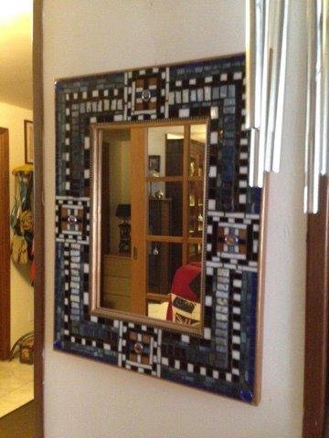 Specchiera in MOSAICO (L'Atelier del Mosaico)