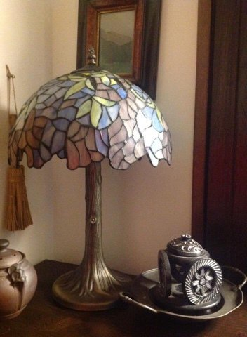 LAMPADA da Tavolo in TIFFANY