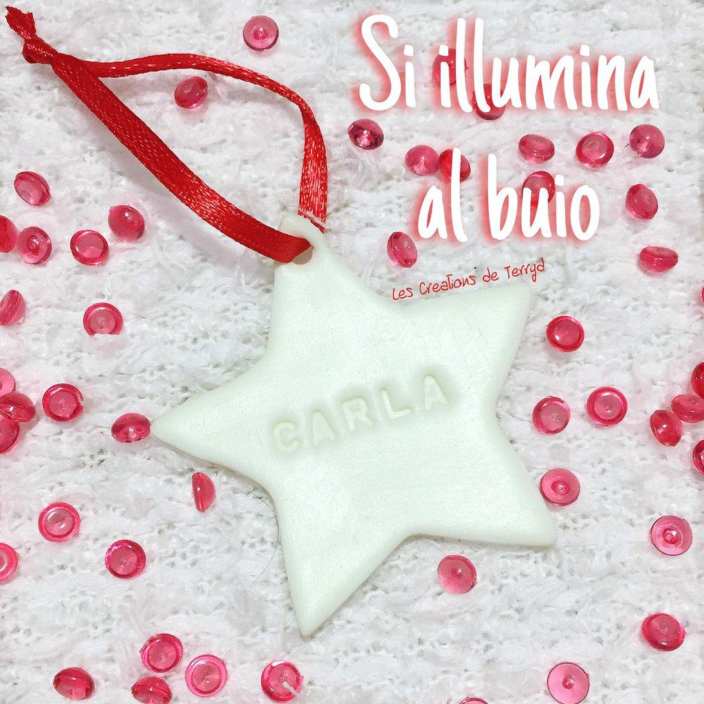 Decorazione natalizia a forma di stella