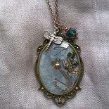 Collana con pendente Steampunk