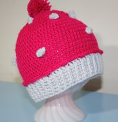 Cappello baby cupcake