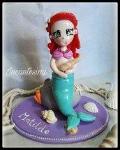 Cake Topper Sirenetta
