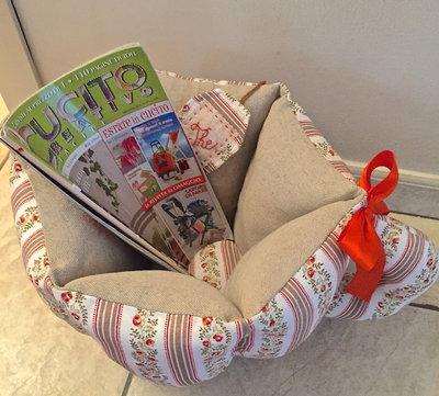 Porta riviste tazza gigante per la casa e per te for Riviste per la casa