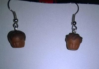 orecchini in fimo muffin