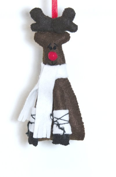 Renna jr: addobbo per l'albero di Natale.