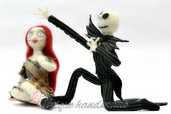 Jack Scheletron e bambola Sally realizzati a mano