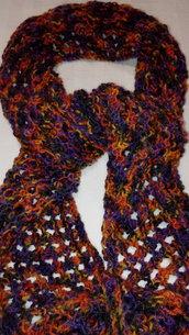 sciarpa da donna in misto lana