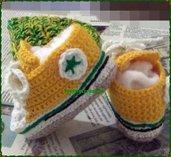 scarpette tennis neonato