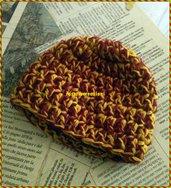 zuccottino neonato lana