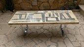 Tavolino da salotto anni '70