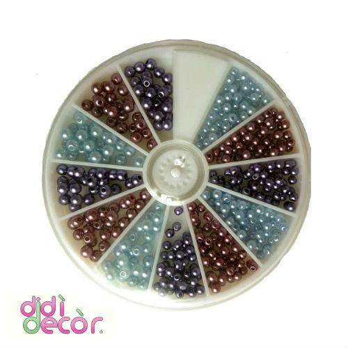 Confezione perline colorate