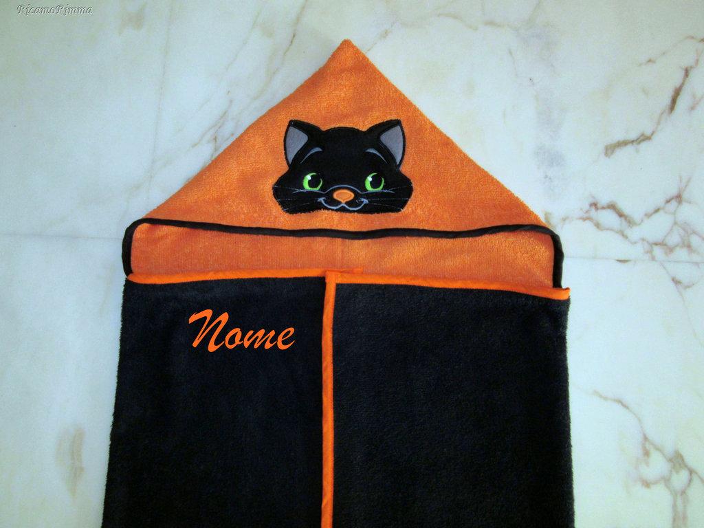 Accappatoio a mantello personalizzato
