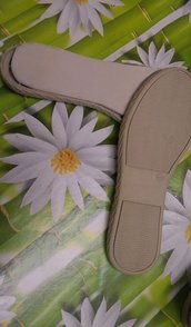 suola bassa,scarpetta o stivaletto n37 cm 24,5