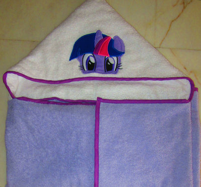 Accappatoio a mantello My Little Pony (Twilight Sparkle)