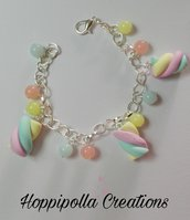 Bracciale con marshmallows