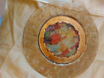 piatto decorato a mano