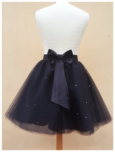 Gonna in tulle con strass // tulle skirt with strass