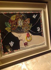 "Quadro in MOSAICO  -  ""Mrs Autumn"""