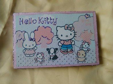 quadretto hello kitty