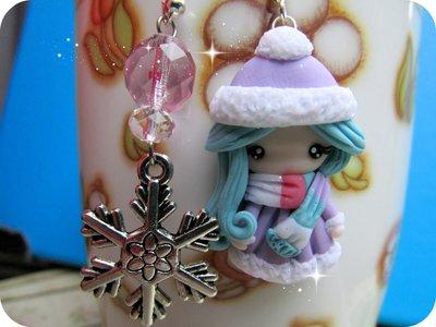 Collezione Invernale Orecchini Fimo Handmade