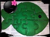 Puzzle in pannolenci/feltro