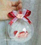 Bebè nella sfera- regalo di Natale