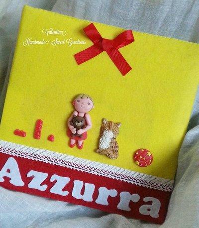 Album fotografico personalizzato- Idea regalo bambini