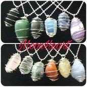 Pietre e cristalli burattati