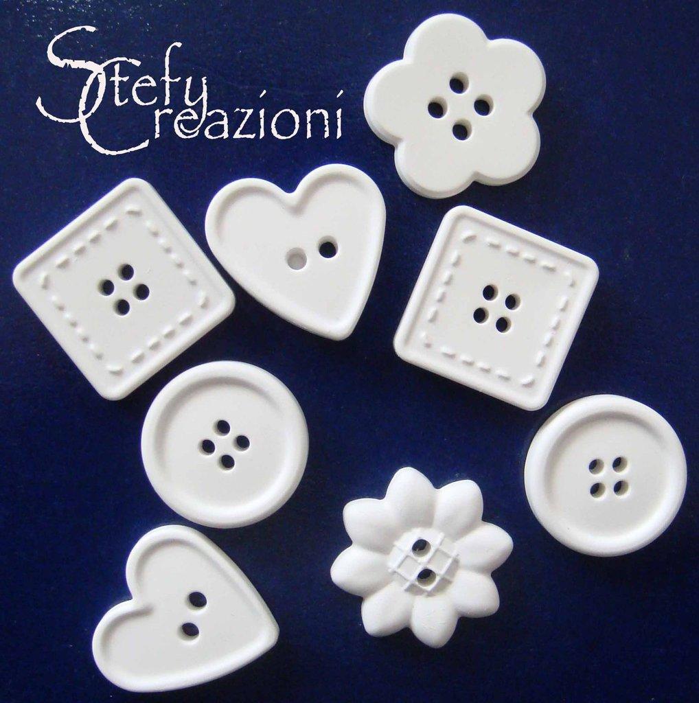 Bottone  Polvere Ceramica