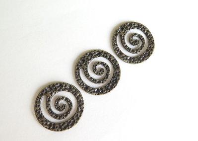 2 Pendenti spirale  CIO111