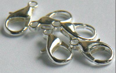 3 Grandi chiusure per collane in silver FER 40