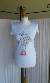 T shirt dipinta
