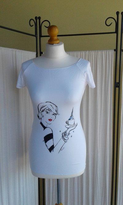 T shirt I ❤ Paris