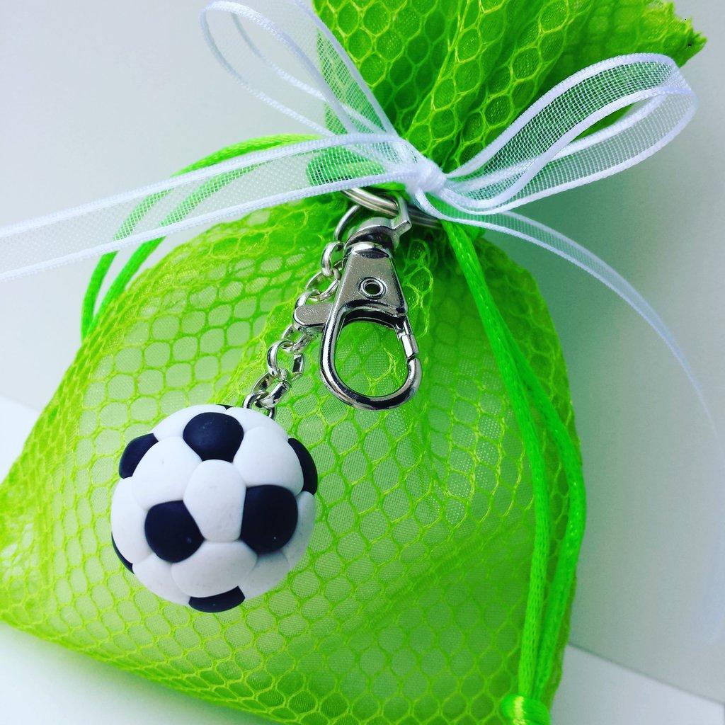 Portachiavi Calcio Fimo