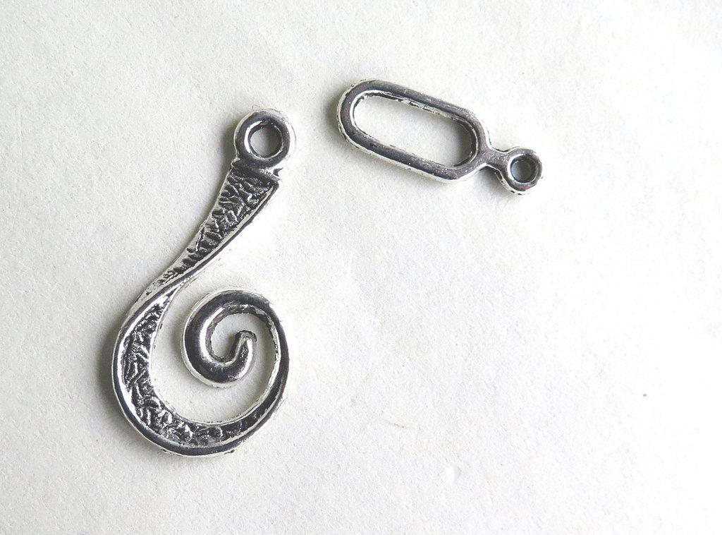 Chiusura per braccialetti in argento tibetano FER 50