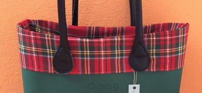 bordo obag compatibile scozzese per o bag standard