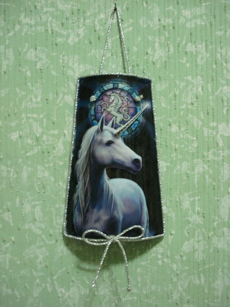 Tegola Vetro Unicorno