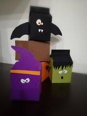 Scatoline porta dolcetti Halloween