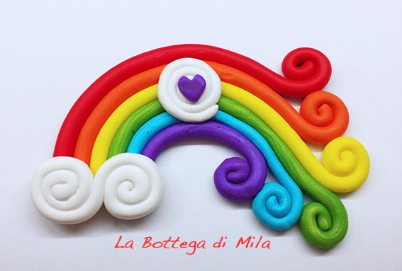 Bomboniera rainbow arcobaleno matrimonio unioni civili for Differenza unione civile e matrimonio