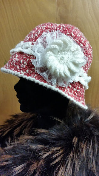 cappello cloche 20s di lana