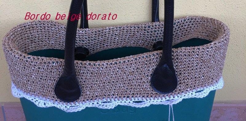 bordo obag compatibile  o'bag standard o mini