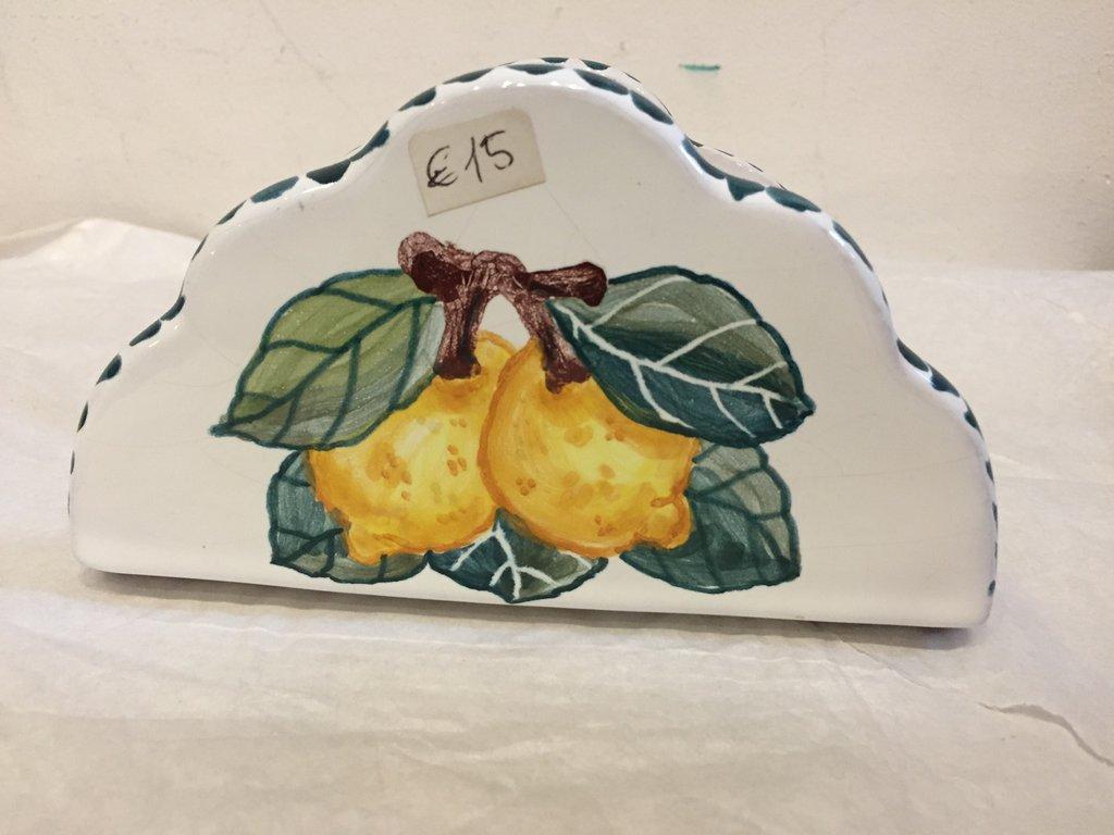 Portatovaglioli in ceramica