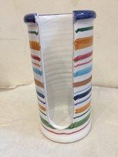 Porta bicchieri in ceramica