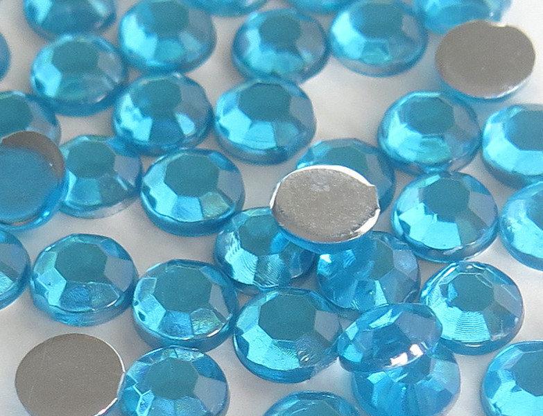 30 Strass azzurri PRL305