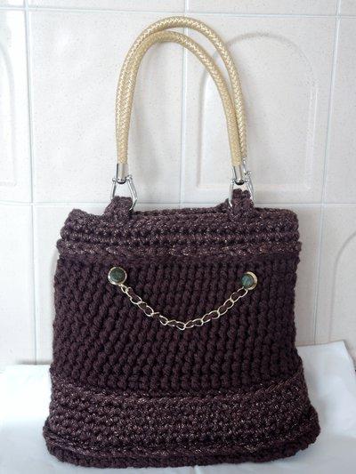 borsa fatta a mano ad uncinetto