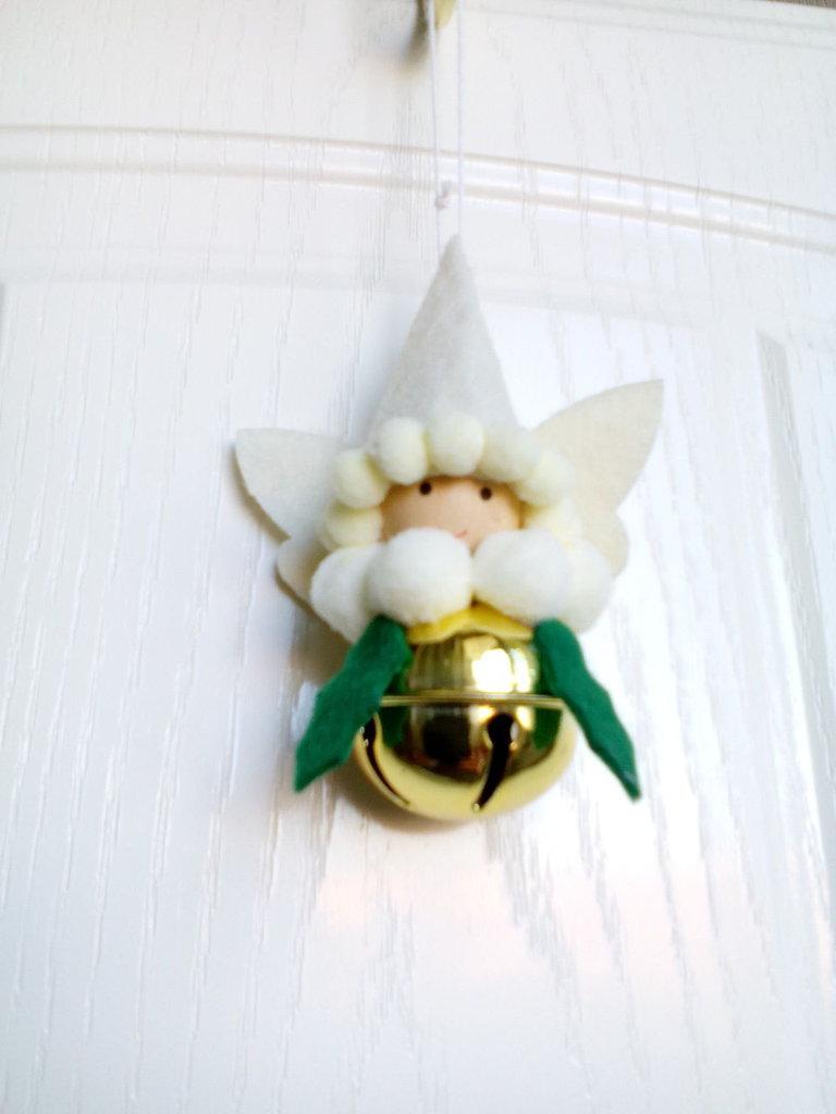 angelo campanellino in feltro