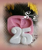 Stampo *Numero 25*