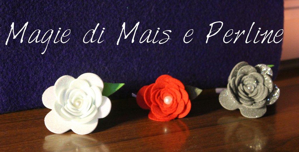 Anelli rose handmade