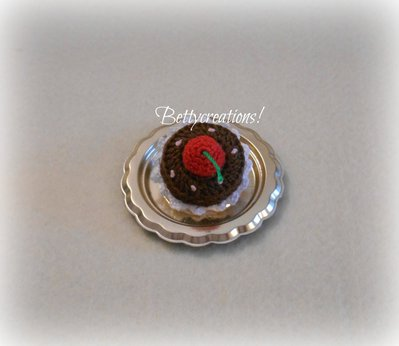 Spilla Uncinetto Cupcake