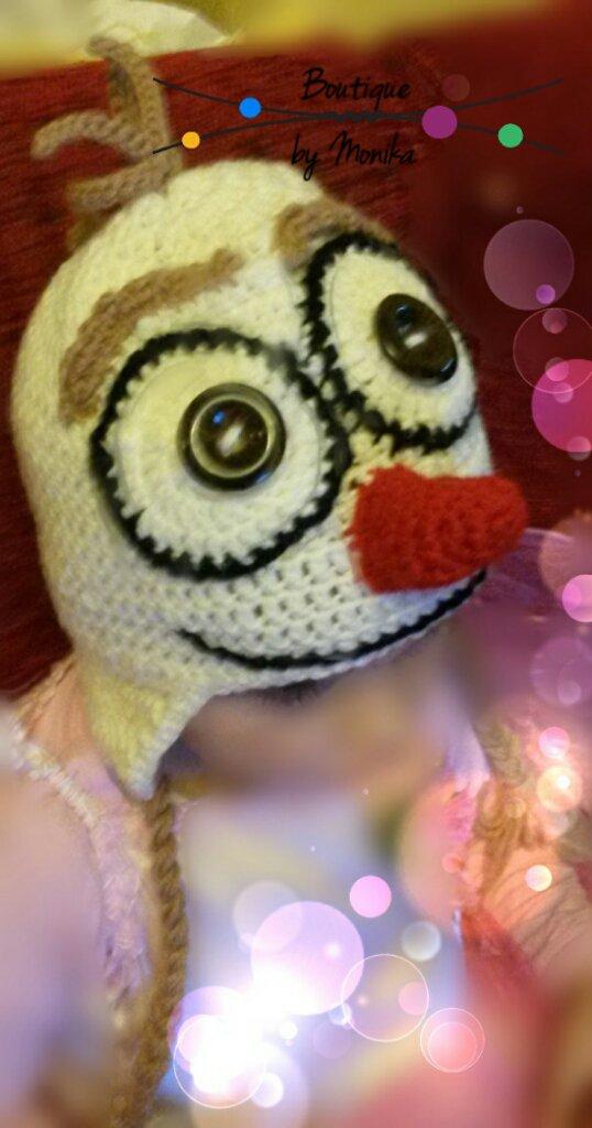 Cappellino Olaf con paraorecchie